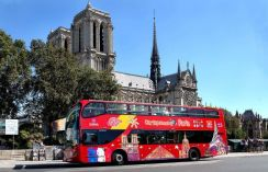 Bus touristiques à Paris
