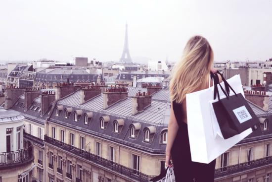 Shopping à Paris