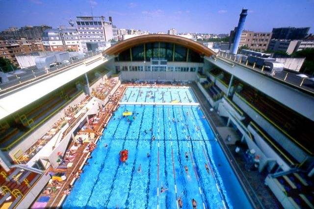 Piscine olympique Georges Vallerey