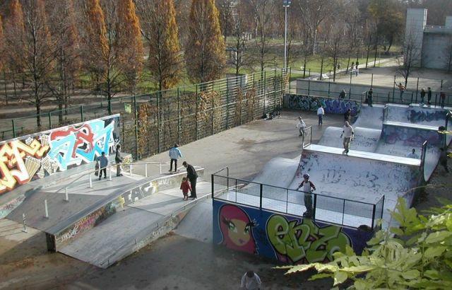 Skateparks à Paris